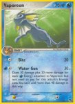 Pokemon POP Series 3 card 6
