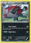 Pokemon Black & White Trainer Kit Zoroark deck card 17
