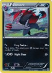 Pokemon Black & White Trainer Kit Zoroark deck card 30