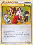 Pokemon HeartGold & SoulSilver Trainer Kit Raichu deck card 21