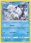 Pokemon Sun and Moon Trainer Kit Alolan Ninetales deck card 14