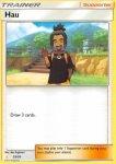 Pokemon Sun and Moon Trainer Kit Alolan Raichu deck card 23