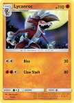 Pokemon Sun and Moon Trainer Kit Lycanroc deck card 16
