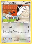 Pokemon XY Trainer Kit Latias deck card 4