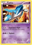 Pokemon XY Trainer Kit Latios deck card 13