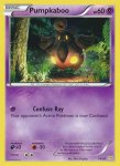 Pokemon XY Trainer Kit Noivern deck card 11
