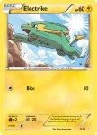 Pokemon XY Trainer Kit Pikachu Libre deck card 11