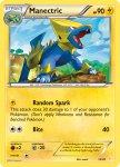 Pokemon XY Trainer Kit Pikachu Libre deck card 13