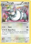 Pokemon XY Trainer Kit Pikachu Libre deck card 19