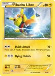 Pokemon XY Trainer Kit Pikachu Libre deck card 30