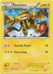 Pokemon XY Trainer Kit Pikachu Libre deck card 4