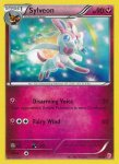 Pokemon XY Trainer Kit Sylveon deck card 15