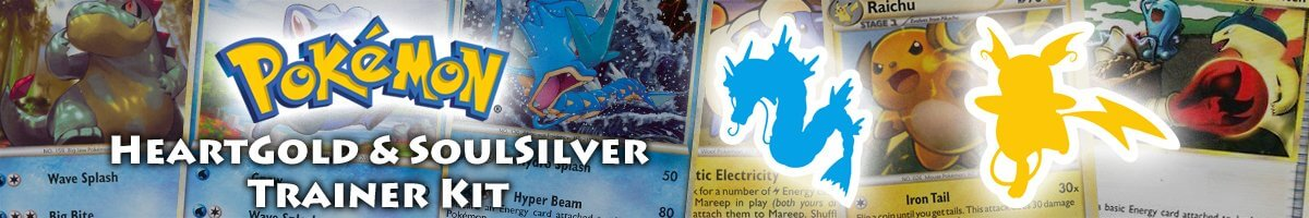 HeartGold & SoulSilver Trainer Kit – Gyarados and Raichu