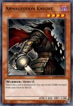 Yugioh banned list card Armageddon Knight