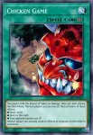 Yugioh banned list card Chicken Game