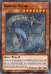 Yugioh banned list card Danger! Nessie!