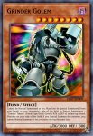Yugioh banned list card Grinder Golem