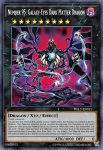 Yugioh banned list card Number 95: Galaxy-Eyes Dark Matter Dragon