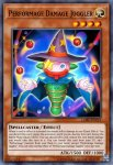 Yugioh banned list card Performage Damage Juggler