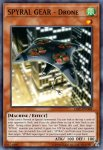 Yugioh banned list card SPYRAL GEAR – Drone