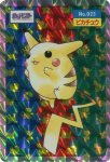 Pikachu Holo Pokemon Topsun card number 025