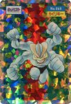 Machamp Holo Pokemon Topsun card number 068