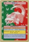 Slowpoke Pokemon Topsun card number 079