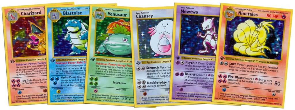 Most valuable Pokemon Base Set cards