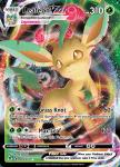 Pokemon Evolving Skies card 008/203 Leafeon VMAX