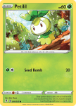 Pokemon Evolving Skies card 009/203 Petilil