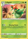 Pokemon Evolving Skies card 010/203 Lilligant