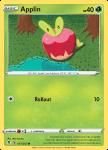 Pokemon Evolving Skies card 017/203 Applin