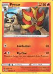 Pokemon Evolving Skies card 023/203 Pyroar