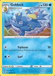 Pokemon Evolving Skies card 025/203 Golduck