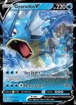 Pokemon Evolving Skies card 028/203 Gyarados V