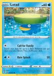 Pokemon Evolving Skies card 032/203 Lotad