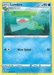 Pokemon Evolving Skies card 033/203 Lombre
