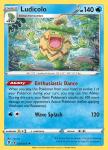 Pokemon Evolving Skies card 034/203 Ludicolo