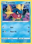 Pokemon Evolving Skies card 035/203 Carvanha
