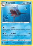 Pokemon Evolving Skies card 036/203 Sharpedo