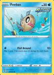 Pokemon Evolving Skies card 037/203 Feebas