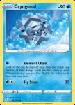 Pokemon Evolving Skies card 043/203 Cryogonal