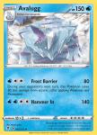 Pokemon Evolving Skies card 045/203 Avalugg