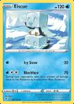 Pokemon Evolving Skies card 047/203 Eiscue