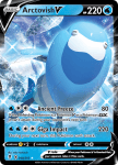 Pokemon Evolving Skies card 048/203 Arctovish V