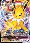 Pokemon Evolving Skies card 051/203 Jolteon VMAX