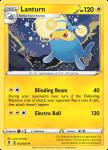 Pokemon Evolving Skies card 053/203 Lanturn