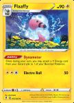 Pokemon Evolving Skies card 055/203 Flaaffy