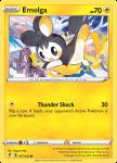 Pokemon Evolving Skies card 057/203 Emolga