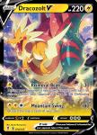 Pokemon Evolving Skies card 058/203 Dracozolt V